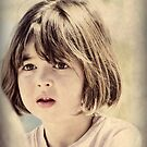 Child in Vintage Hues by Karen E Camilleri