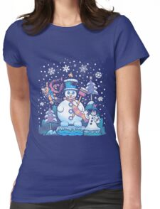 Freezy Winterland Womens Fitted T-Shirt