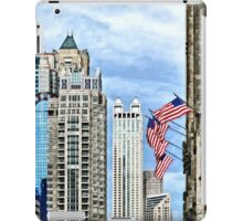 Chicago - Flags Along Michigan Avenue iPad Case/Skin