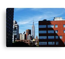 The Empire State Building. Canvas Print