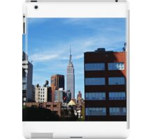 The Empire State Building. iPad Case/Skin