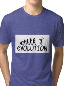 Volleyball Evolution Tri-blend T-Shirt