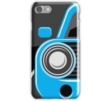 Classic car blue color iPhone Case/Skin