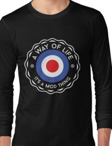 MOD Clock Long Sleeve T-Shirt