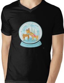 Winter Wonderland Mens V-Neck T-Shirt