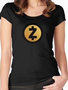 Zcash - Zec Coin - Cryptocoins Women's Fitted Scoop T-Shirt
