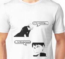 Chris and  Ushiwaka Unisex T-Shirt