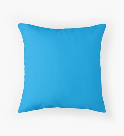 Turquoise Blue | Solid Color Throw Pillow