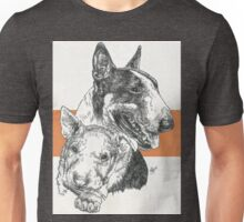 Bull Terrier Father & Son Unisex T-Shirt