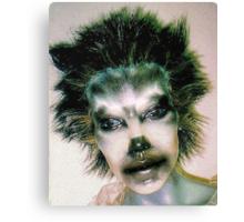 Mole girl Canvas Print