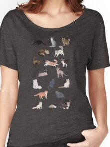 Many Meows Women's Relaxed Fit T-Shirt