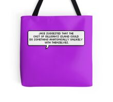 Jace Wayland Quote - The Mortal Instruments Tote Bag