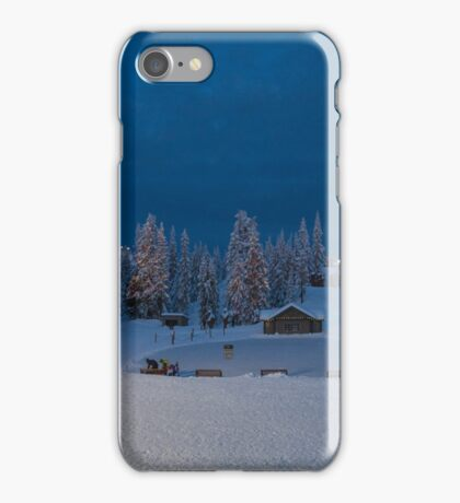Winter fairy tale at Grouse  iPhone Case/Skin