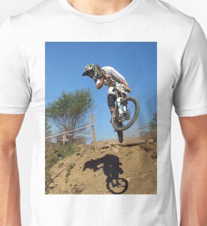 Downhill mountain biker Unisex T-Shirt