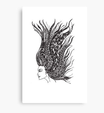 Mind Hair Canvas Print