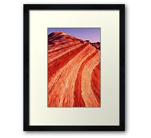 Fire Wave Sunset - Valley Of Fire - Nevada Framed Print