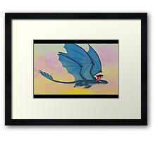 How to train your Stitch Framed Print