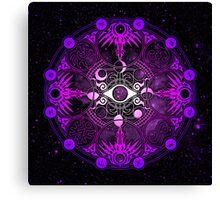 Yuko Ichihara Magic Circle Canvas Print