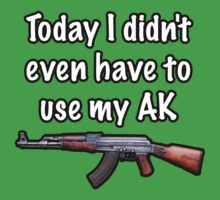 Today I didn't even have to use my AK by 7tai11