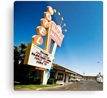 Vegas Motel Metal Print