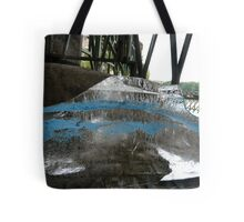 Ice Cube In Blue Disquise Tote Bag