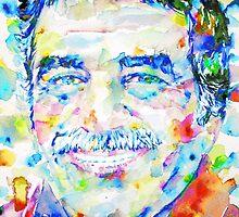 GABRIEL GARCIA MARQUEZ -  portrait.5 by lautir