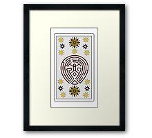 Westworld Tarot Framed Print