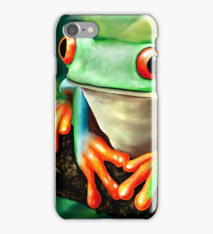 The Green Frog iPhone Case/Skin