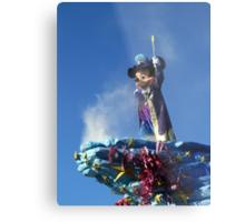Mickey at the Disneyland Parade Metal Print