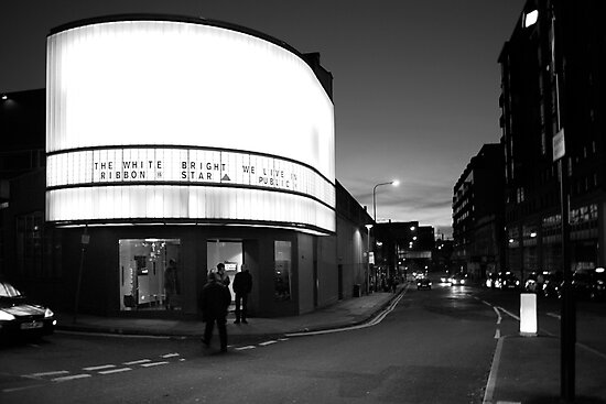 Cornerhouse and Whitworth Street West, Manchester by Nicholas Coates