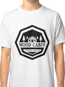 Wood Cabin Outdoor Camping Classic T-Shirt