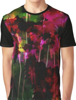 Among Flowers - Abstract Graphic T-Shirt