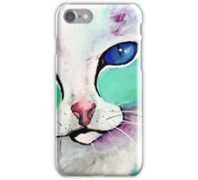 Loki The Cat - Cat Art by Valentina Miletic iPhone Case/Skin