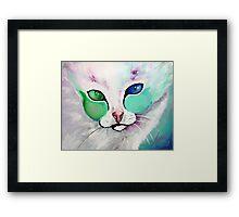 Loki The Cat - Cat Art by Valentina Miletic Framed Print