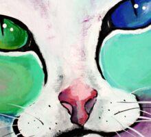 Loki The Cat - Cat Art by Valentina Miletic Sticker