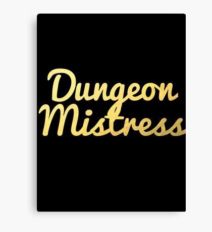 Dungeon Mistress Canvas Print
