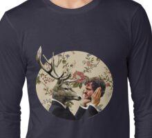 Wendigo Floral Insignia Long Sleeve T-Shirt