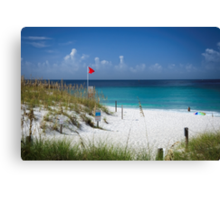 A Pretty Beach on The Gulf Of Mexico !!! Canvas Print