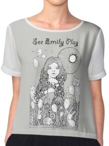 See Emily Play Tee Chiffon Top