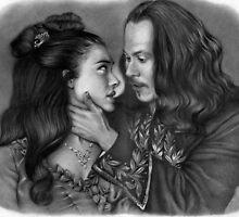 'Mina & Dracula' by lesleycsage