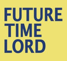 Doctor Who - Future Time Lord Baby Tee