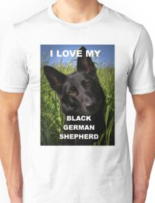GS black love with picture Unisex T-Shirt