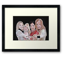 Girls of Once Upon A Time Framed Print