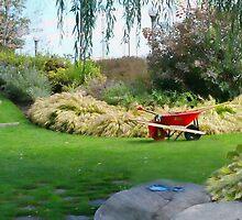 A Gardener's Scene by Marilyn Cornwell
