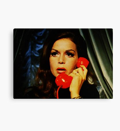 Red Phone Canvas Print