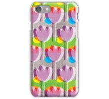 Purple tulips iPhone Case/Skin