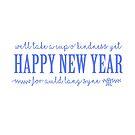 Happy New Year - Auld Lan Syne Lyrics by cinn