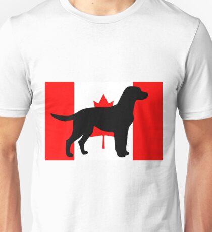LR silhouette on flag Unisex T-Shirt