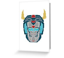 Voltron Legendary Defender Greeting Card