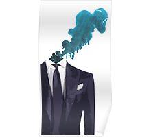 Smoking Head Poster